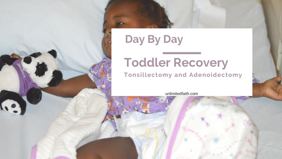 Routine' Surgery Recovery is No Joke: Toddler Tonsil and